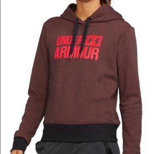 Maroon Under Armour hoodie